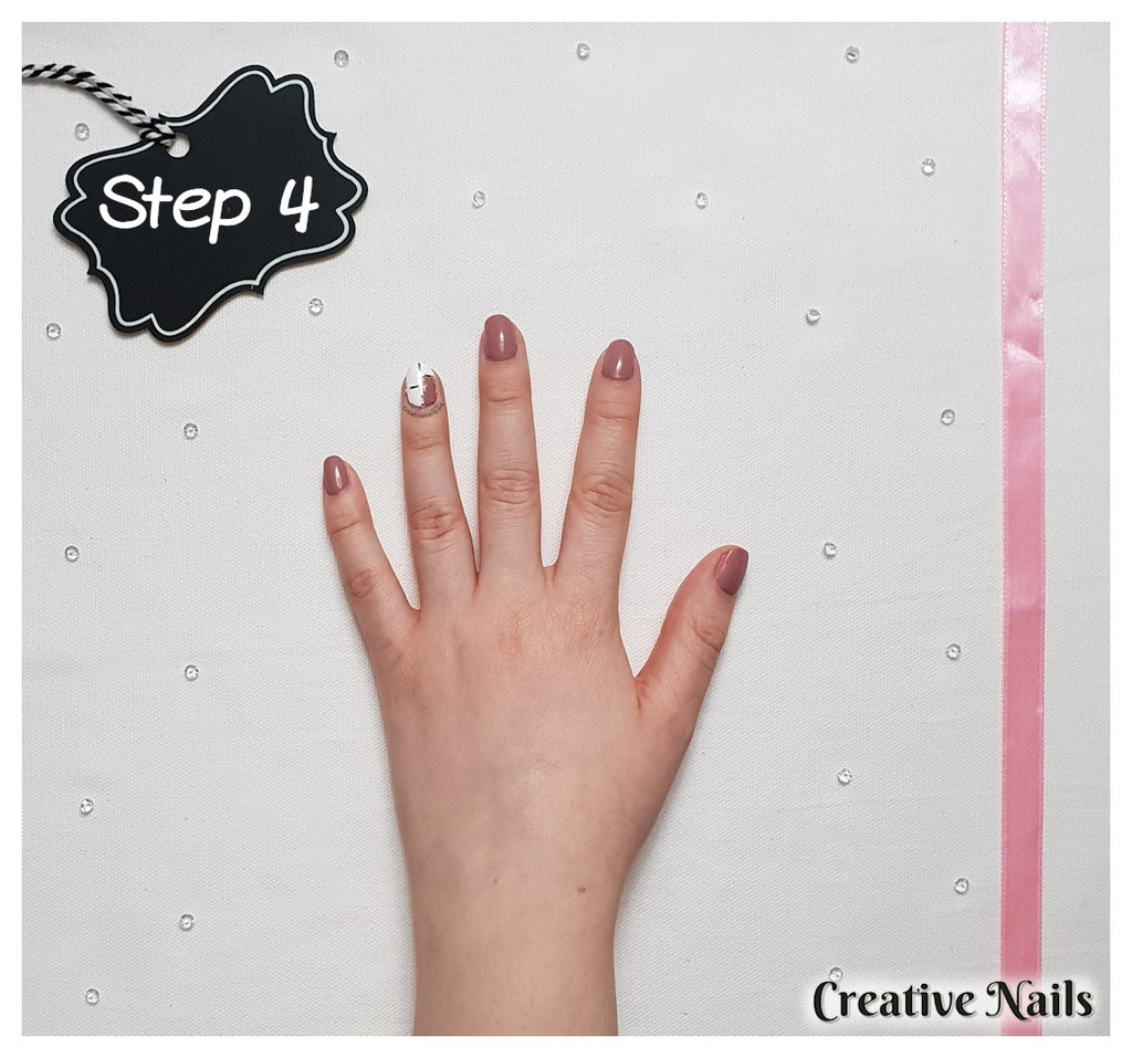 easy abstract nail art designs