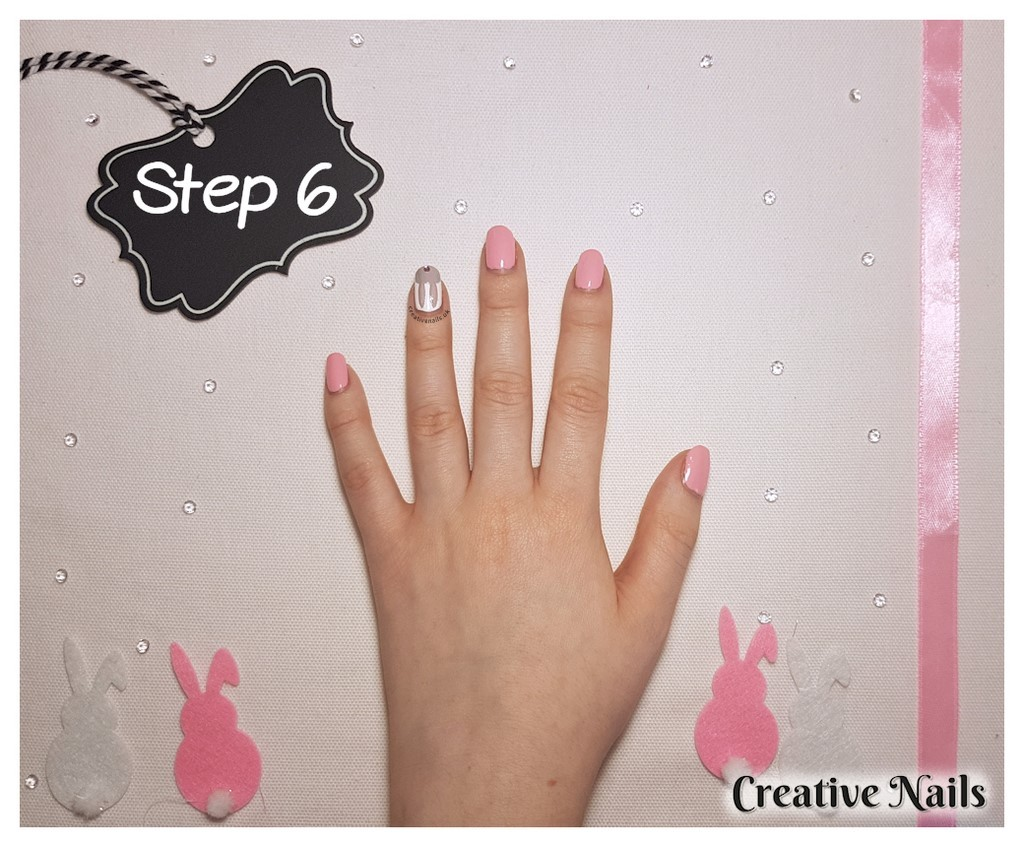rabbit nail art