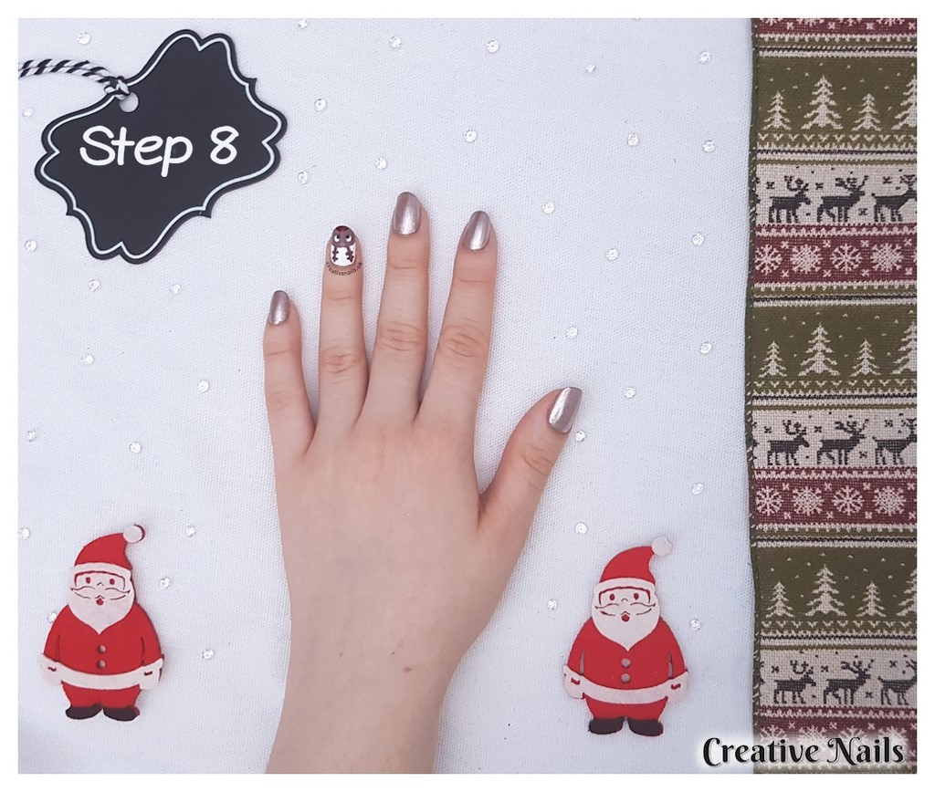 rudolph nails design
