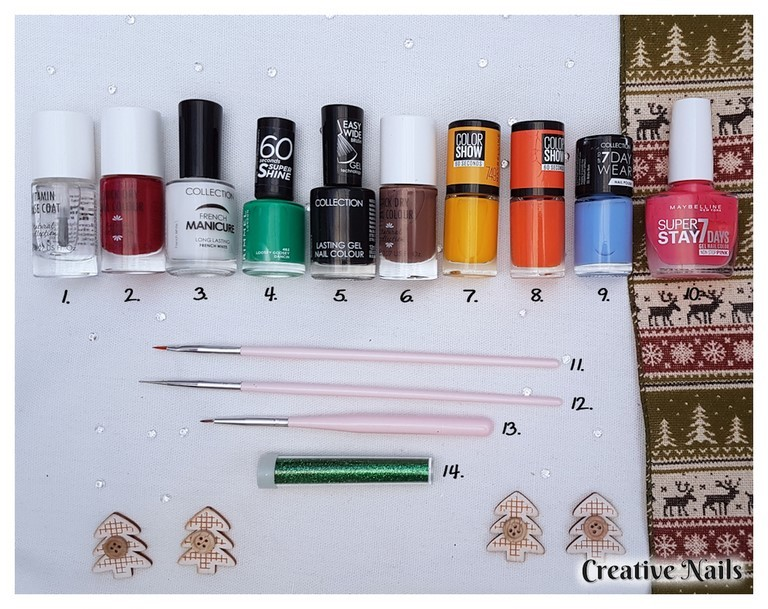 Nail polish and nail art tools