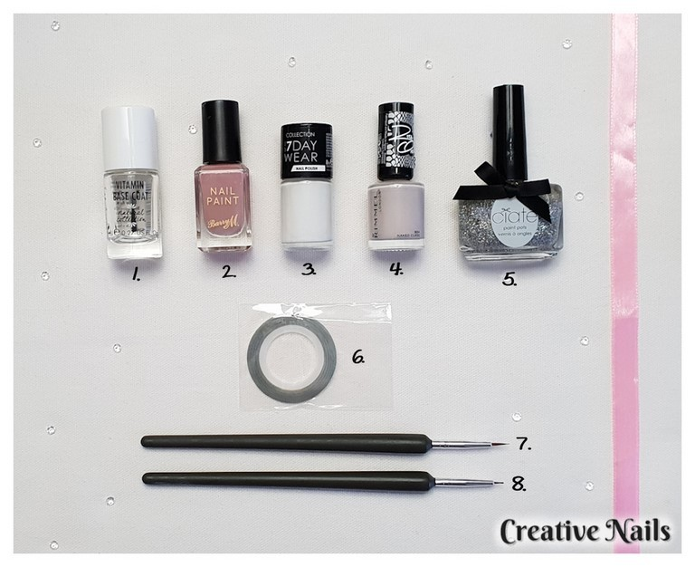 Nail polish, nail art tools