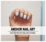 anchor nail art tutorial