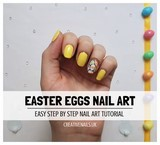 easter eggs nail art tutorial