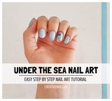 under the sea nail art tutorial