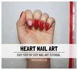 heart nail art tutorial