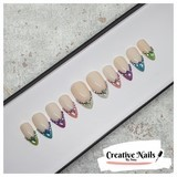 Jewel False Nails