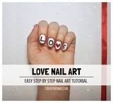 love nail art tutorial